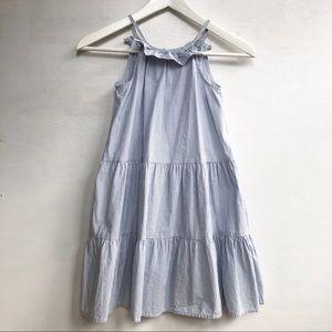 OshKosh striped ruffle trapeze dress for girls